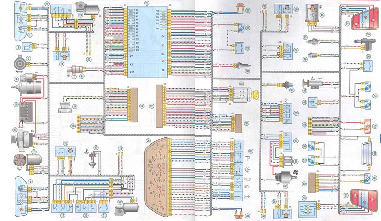 схема 2115 · схема Калина